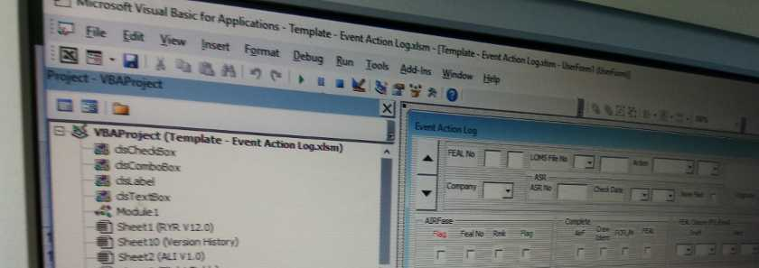 Excel vba logging